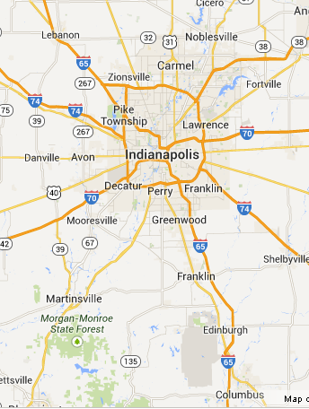 Central Indiana Map.Central Indiana Home Inspection Areas Served New Start Inspections