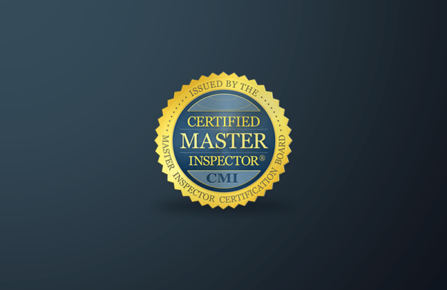 Louis Annee is now a Certified Master Inspector
